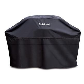 "Cuisinart Heavy Duty Barbecue Grill Cover, 70"", Black"