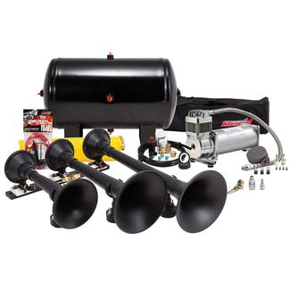 Complete Universal Triple Train Horn Kit