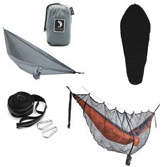 Tribe Provisions Adventure Hammock Kit, Black/Gray