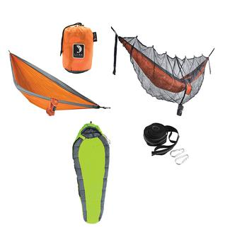 Tribe Provisions Adventure Hammock Kit, Green/Orange