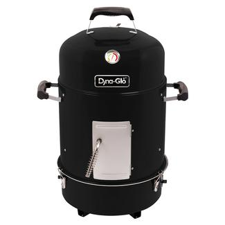 Dyna-Glo Compact Charcoal Bullet Smoker, High Gloss Black