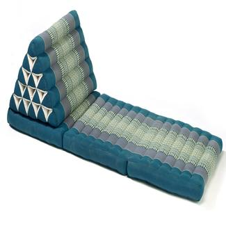Triangle Lounger Chair, Aqua