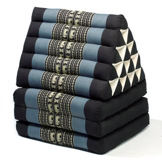 Triangle Lounger Chair, Blue&#x2f&#x3b;Black