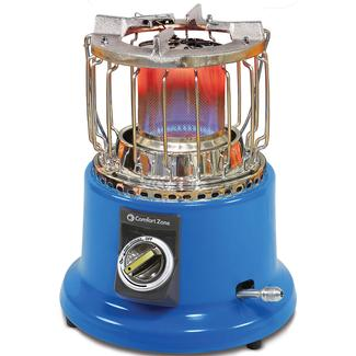 2-in-1 Propane Heater/Stove