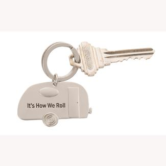 How We Roll Keychain