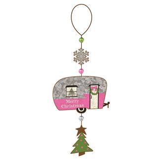 Merry Christmas Trailer Ornament