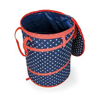 Camco Collapsible Pop-Up Utility Container, Patriotic