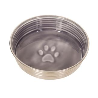 Le Bol&trade&#x3b; Pet Food Bowl, Gray