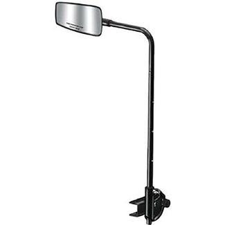 Pontoon Tow Mirror W&#x2f&#x3b; Adjustable Bracket