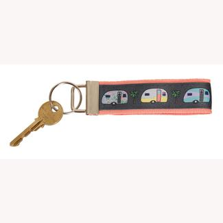 Campers Keychain, Salmon