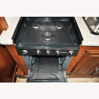 Stove Wrap Splatter Guards- Suburban 3-burner stoves and cooktops