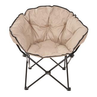 Tan Small Club Chair