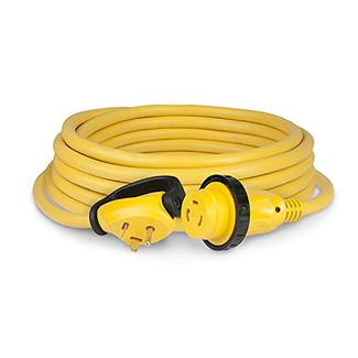 ParkPower30 Amp, 125V RV Cordset, Yellow, 36'