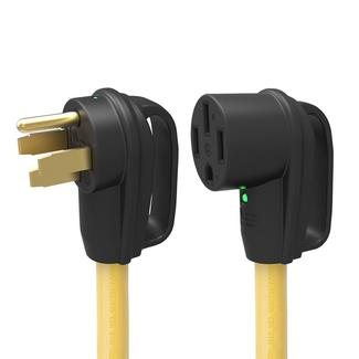 50A Extension Cord with Indicator Light,10&#x27&#x3b;