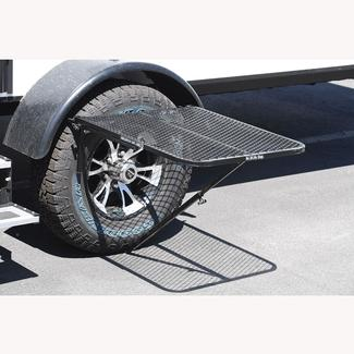TailGater Tire-Mounted Portable Tailgating Table