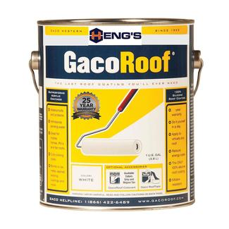 Heng&rsquo&#x3b;s GacoRoof 100&#x25&#x3b; Silicone Roof Coating, Gallon