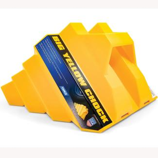 RV Big Yellow Wheel Chock