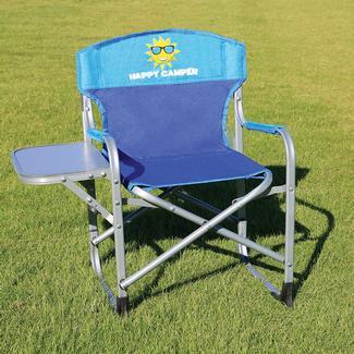 Kidsu0027 Directoru0027s Chair, Blue/Turquoise