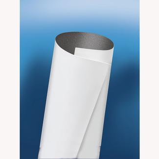 Dicor Seamless EPDM Rubber Roof System, White, 9.6' x 45'