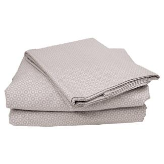 100&#x25&#x3b; Cotton Sheets, Short Queen, Gray