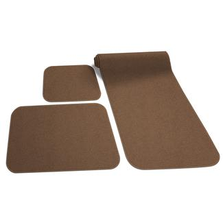 Decorian 3-Piece RV Rug Set, Caramel/Brown