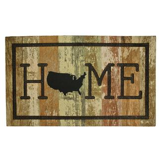 Home USA Rubber Mat, 18