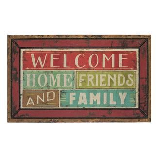 Family & Friends Welcome Rubber Mats, 18