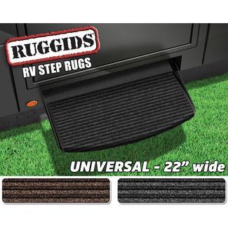 Universal RV Step Rug, 22'', Charcoal Black