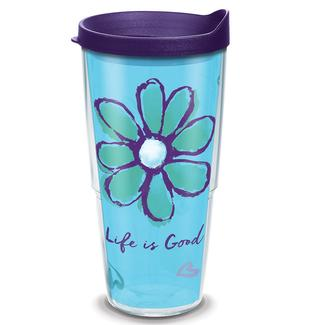 Tervis® Tumblers, Life is Good Flower, 24 oz.