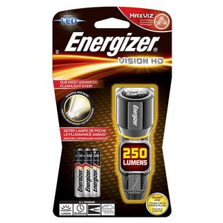 Energizer Vision HD Performance Metal LED Flashlight