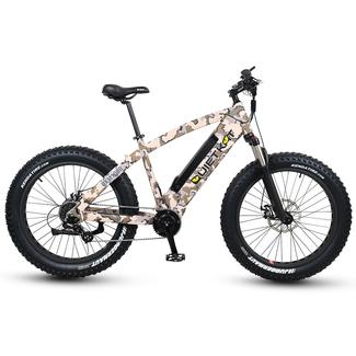 QuietKat 1000-IC Electric Fat-Tire Mountain Bike, Camouflage