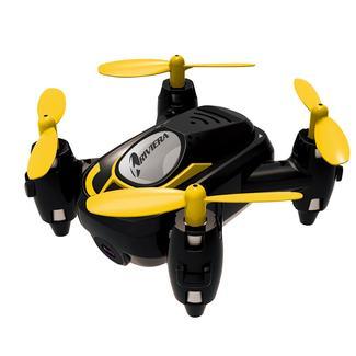 Riviera RC Micro Quad Wi-Fi Drone with 3D App, Black