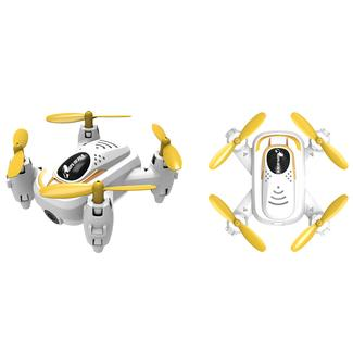 Riviera RC Micro Quad Wi-Fi Drone with 3D App, White