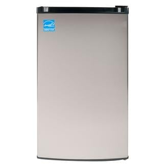 Equator-Midea ADA Compliant Easy Defrost 3 Cu. Ft. Upright Mini Freezer in Stainless Steel Finish