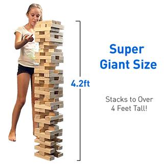 EasyGo Large Wood Stack & Tumble