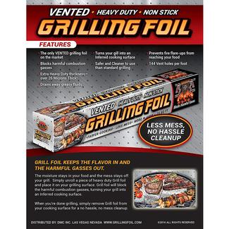 Grill Foil, 2 Pack