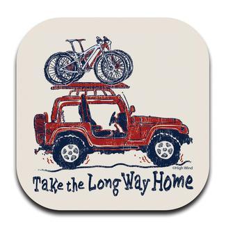 Long Way Jeep Coaster