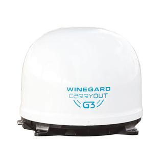 Winegard&reg&#x3b; Carryout G3 Satellite Antenna, White