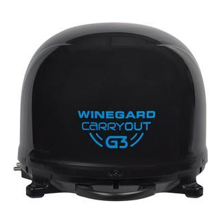 Winegard® Carryout G3 Satellite Antenna, Black