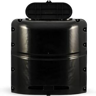 Heavy-duty RV&#x2f&#x3b;Trailer Propane Tank Cover, Black