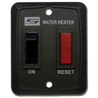 Suburban Standard On&#x2f&#x3b;Off Water Heater Switch, Black