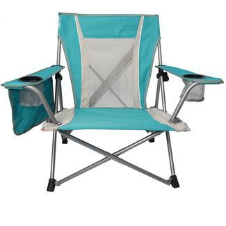 Kijaro Dual Lock Wave Chair, Turquoise