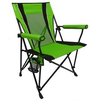 Dual Lock Hard Arm Chair, Green