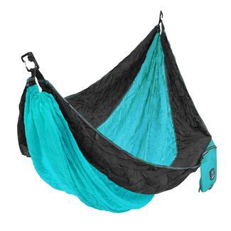 Kijaro Single Hammock, Turquoise