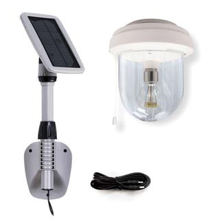 Light My Shed IV- Solar Shed Light with GS Solar LED Light Bulb (GS-16B)