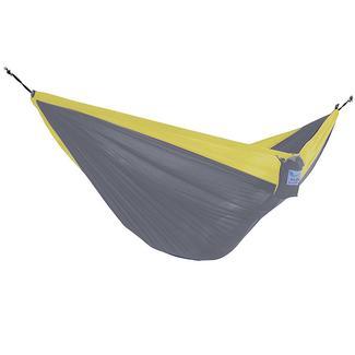 Vivere Parachute Hammock, Yellow & Gray