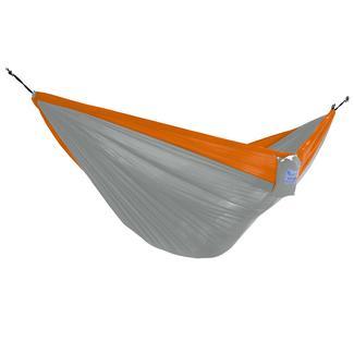 Vivere Parachute Hammock, Orange & Gray