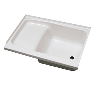 "Replacement ABS Step Tub, 24"" x 36"", White with Right Drain"