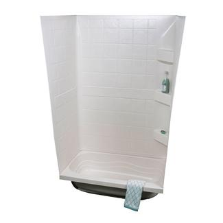 "ABS Tub Walls, 24"" x 40"" x 59"", White"