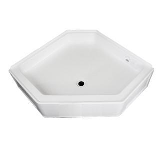 "ABS Neo Shower Pan, 36"" x 36"" x 9 1/2"", White"